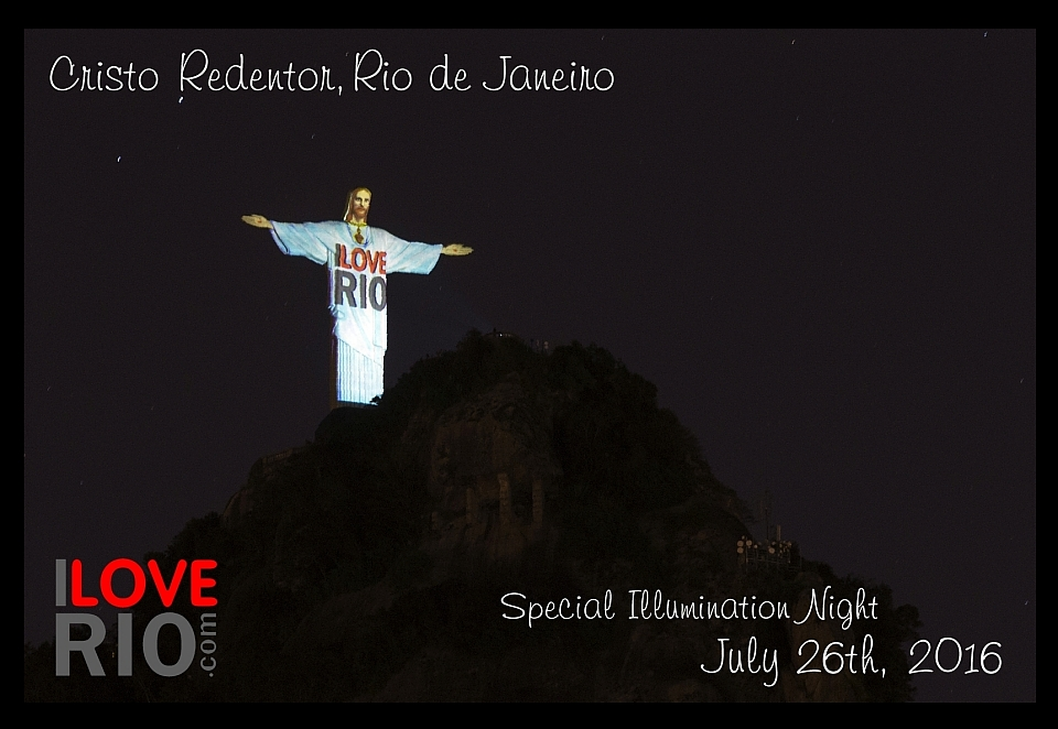 I Love Rio on Christ the Redeemer