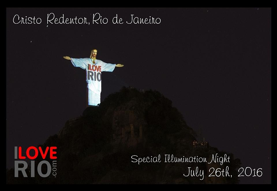 I Love Rio on Christ the Redeemer